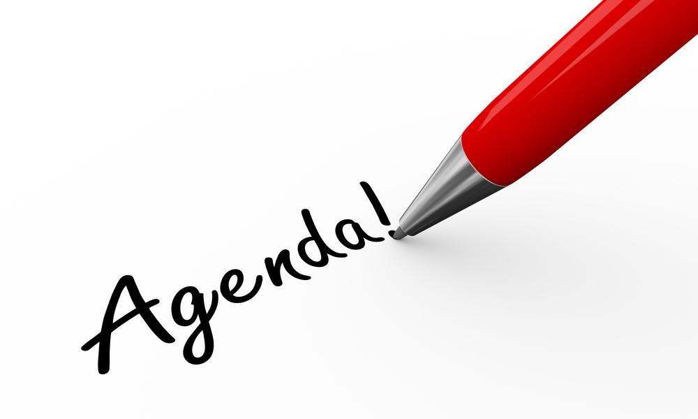 Agenda algemene ledenvergadering 2021